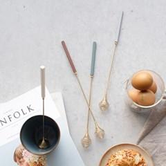 몽블랑 로얄 골드 거품기- 4color
