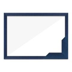 퍼즐액자 38x52 고급형 슬림 우드 블루