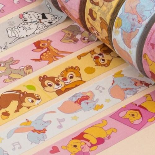 [디즈니] 마스킹테이프 애니멀캐릭터(6종)