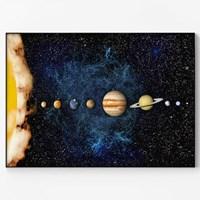 메탈 인테리어 우주 아이방 북유럽 포스터 액자 태양계