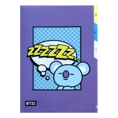 [BT21] 3 포켓 파일 폴더 / 코야(KOYA)_(778941)