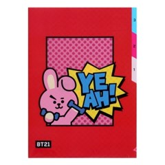 [BT21] 3 포켓 파일 폴더 / 쿠키(COOKY)_(778920)