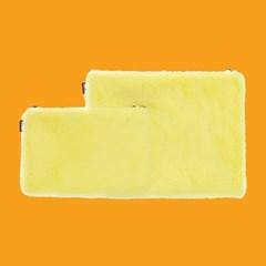 에코퍼 파우치 레몬 노랑 S/M