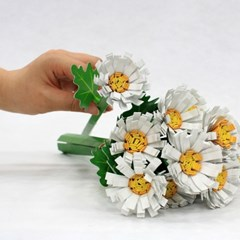 [DNA PaperToy] 국화꽃 만들기/페이퍼플라워/꽃만들기/방꾸미기