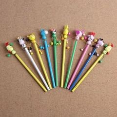 달그락달그락 동물친구 원목연필 10개