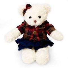 신체크후드 테디베어여자곰(대형화이트)
