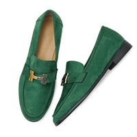 kami et muse Gold H pendent loafers_KM18w342