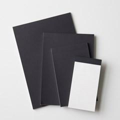 디자인문구 단순생활 노트패드 블랙_(1301445)