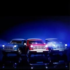 티켄 TICKEN LED 빈티지 자동차 차량용 송풍구 방향제 LED