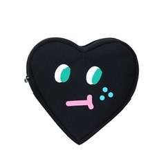 slowcoaster black heart pouch_(1187085)