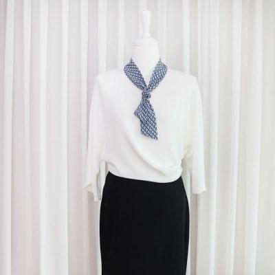 스칸디 패턴 쁘띠 트윌리 스카프 (3 colors)