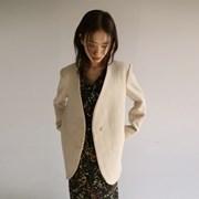 non-collar long snap jacket (2colors)_(1139260)