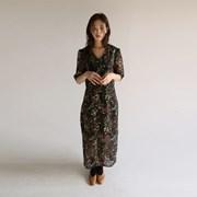 vintage floral half dress (2colors)_(1139259)
