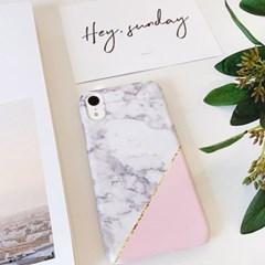 핑크마블 핸드폰케이스 / 아이폰 갤럭시 6s 7 XS XR S8 S9 G6 G7