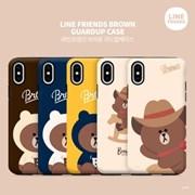 [LINE FRIENDS정품] 라인프렌즈 가드업 목마&후드 브라운 시리즈