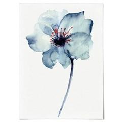패브릭 천 포스터 F146 꽃 그림 식물 액자 어 플라워