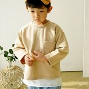 반포켓 아동 티셔츠