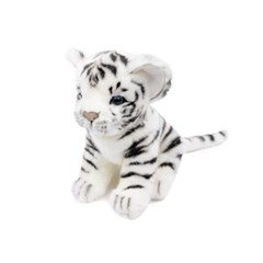 7287-아기백호랑이 동물인형 17cm.L_(1256254)