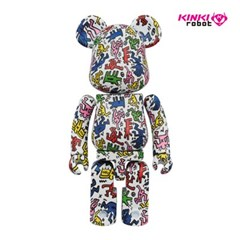 [KINKI ROBOT]200%BEARBIRKCK SUPER ALLOYED KEITH HARING (1902007)