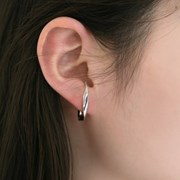 twist earcuff earrings (2colors)