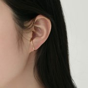 simple earcuff earrings (2colors)