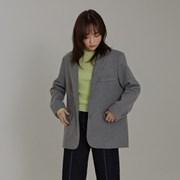 [모어글렌]simple wool jacket (2colors,wool70%)