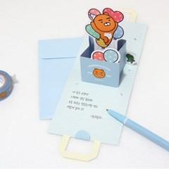 카카오프렌즈 쇼핑백 팝업 기프트 카드_(3948049)