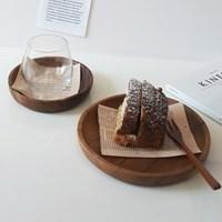 아카시아 나무 접시 우드접시