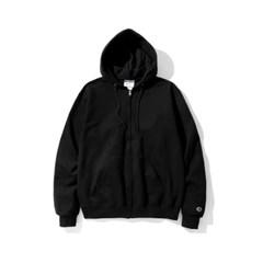 챔피온 집업 후드 자켓 S800 BLACK_(765869)