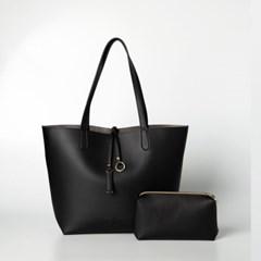 Lilly shopper bag (black) - D1001BK