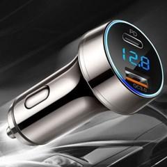 아림 퀵차지 3.0 PD 차량용 고속 충전기 볼트게이지 시거잭 HSC-3000