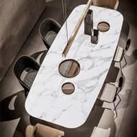 베르세르크 이태리 천연대리석 식탁 테이블 (프리오더)