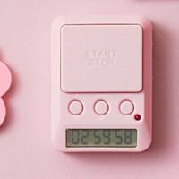 일본 드레텍 Dday 디데이 스탑워치 핑크