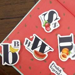 꼬메모이 쥬에 과일 야채 알파벳/자석 교구 퍼즐 칠판 유아