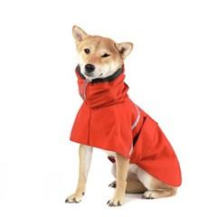 OUTDOOR RAIN COAT [RED]
