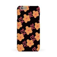 하트 꽃 패턴 #3