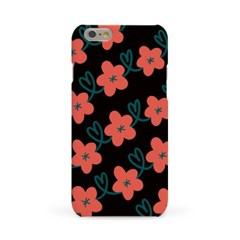 하트 꽃 패턴 #1