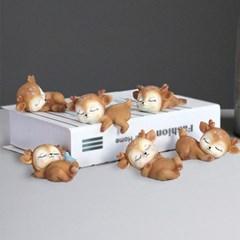 아기사슴 장식소품 6종류