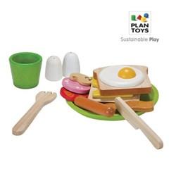 플랜토이즈 원목교구 주방놀이 토스트 만들기 3602_(1560847)
