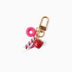 딸기사탕 키링