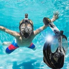 리버스 스노클링 마스크 / N9T3A001 스노클 물안경 물놀이용품 잠수