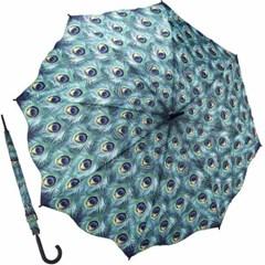 피콕 - 원목 자동장우산