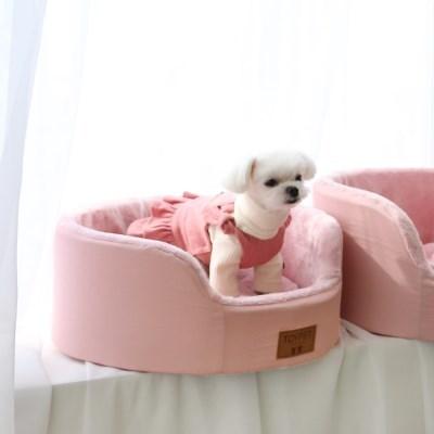 모노베드 - 원형 / 핑크