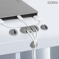 멀티 케이블 홀더 부착식 USB 선정리 혼합형 CH3354
