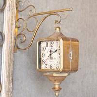 리빙쇼 빈티지 양면 시계 (2color)