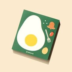 브런치 계란떡메모지