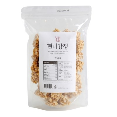 부드러운 수제 임금님표 이천쌀 현미강정