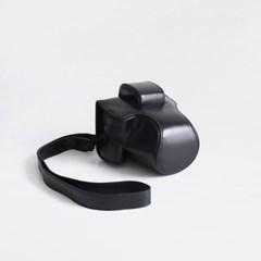 캐논 Canon EOS M5 / M50 카메라 케이스 파우치 넥스트랩 블랙