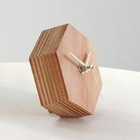 [위크앤드] 심플리스트 육각탁상시계