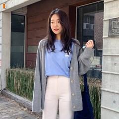 Spring cream loose cardigan_M (울 60%) (size : free)_(1208075)